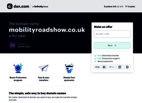 mobilityroadshow.co.uk