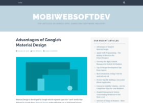 mobiwebsoftdev.wordpress.com