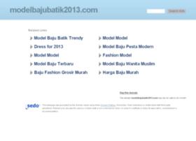 modelbajubatik2013.com