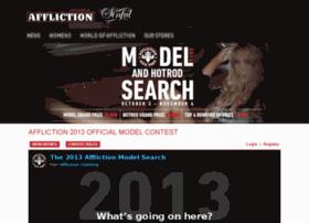 modelcontest.afflictionclothing.com