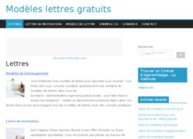 modeles-lettres-gratuites.net