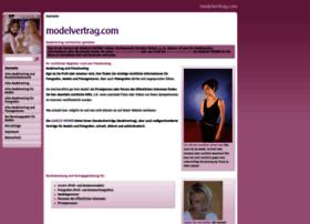 modelvertrag.com