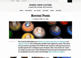 modelviewculture.com