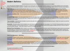 modernballistics.com