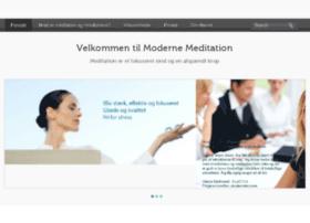modernemeditation.dk