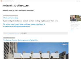 modernistarchitecture.blogspot.nl