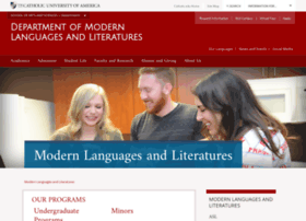 modernlanguages.cua.edu