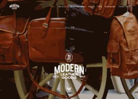 modernleathergoods.com