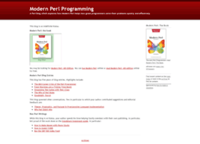 modernperlbooks.com