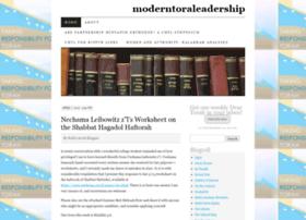 moderntoraleadership.wordpress.com