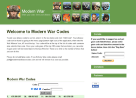 modernwaralliancecodes.com