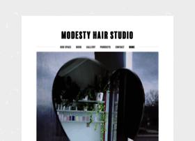 modestyhairstudio.com