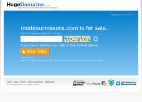 modesurmesure.com