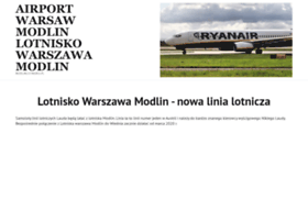 Modlinlotnisko.pl