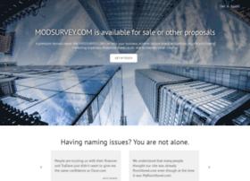 modsurvey.com