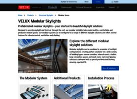 modularskylights.veluxusa.com