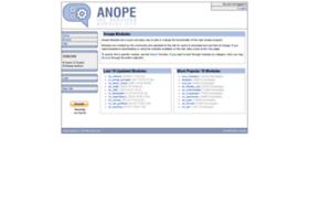 modules.anope.org
