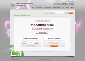 mohammad.ws