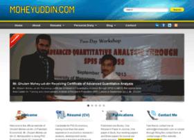 moheyuddin.info