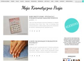 mojakosmetycznapasja.blogspot.com