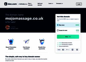 mojomassage.co.uk