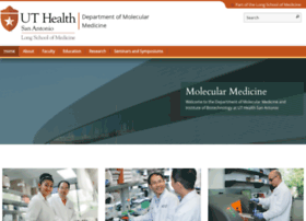 molecularmedicine.uthscsa.edu