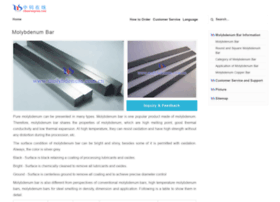 molybdenum-bar.com