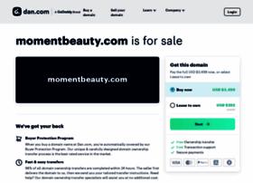 momentbeauty.com