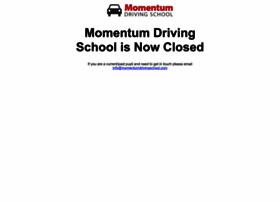 momentumdrivingschool.com