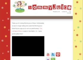 mommyjuicewines.com