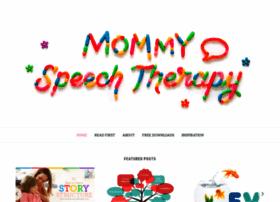 mommyspeechtherapy.com