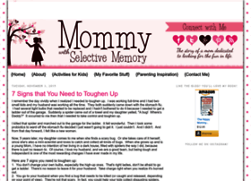 Mommywithselectivememory.blogspot.com