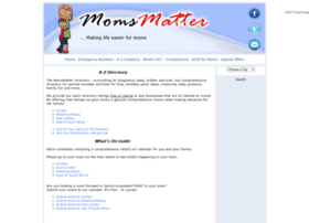 momsmatter.co.za