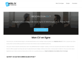 mon-cv-en-ligne.com