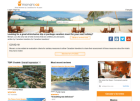 Monarc.ca - hotel reviews for Canadian travellers