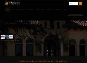 monarchcustomdoors.com