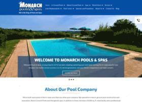 monarchpoolsandspas.com