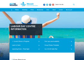 monashaquaticrecreationcentre.com.au