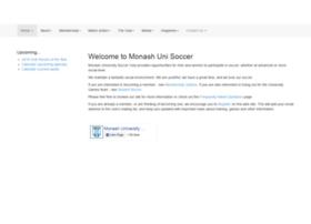 monashunisoccer.org