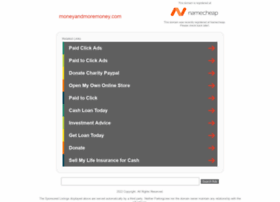 moneyandmoremoney.com