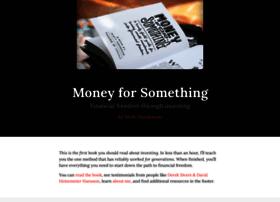 moneyforsomethingbook.com