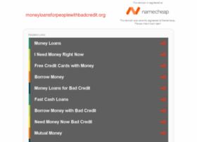 moneyloansforpeoplewithbadcredit.org