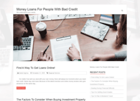 moneyloansforpeoplewithbadcredit999.com