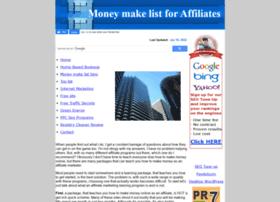 moneymakelist.com