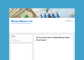 moneymakerslist.com