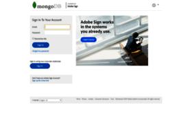 mongodb.echosign.com