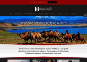 mongoliacenter.org
