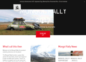 mongolrally.theadventurists.com