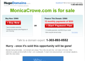 monicacrowe.com