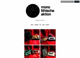 monolithische-aktion.com